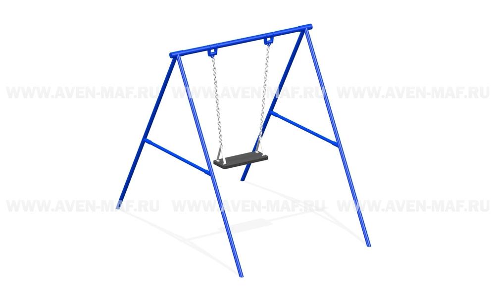 Качели маятниковые на цепях К-2/1 синие