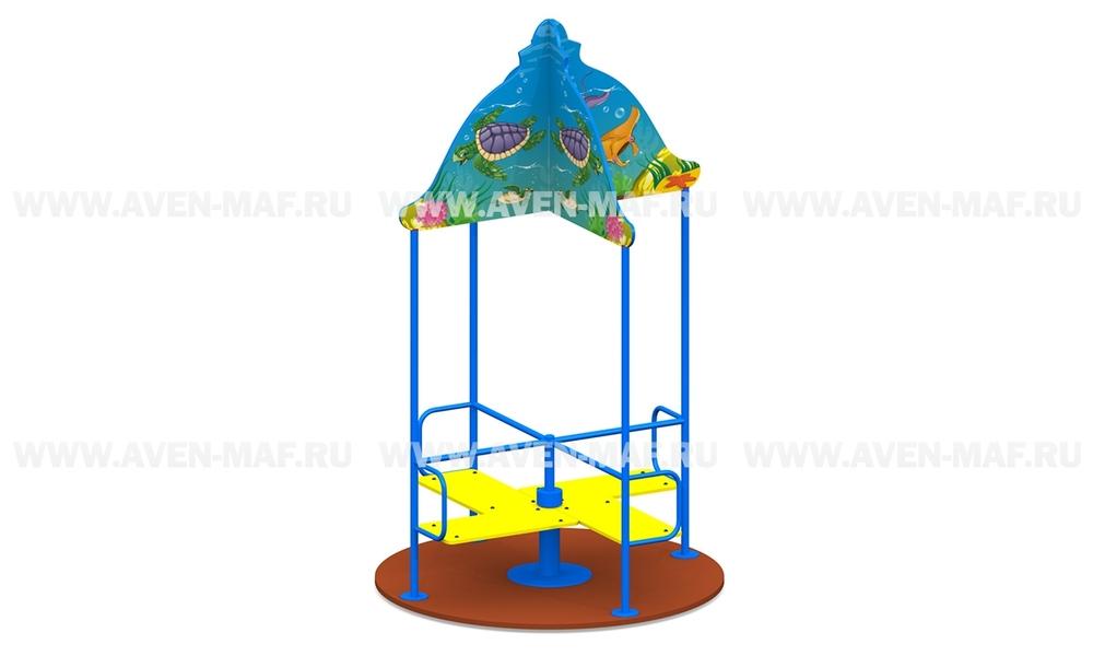 """Детская карусель К-5/2 """"Подводный мир"""""""