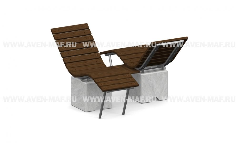 Лежаки-скамейки Л-10