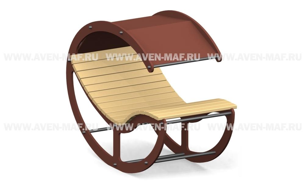 Лежак-скамейка Л-12