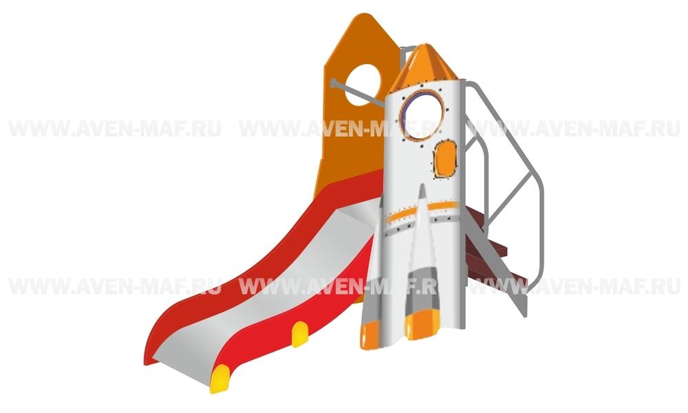 """Детская горка МГМ-15 """"Ракета"""""""
