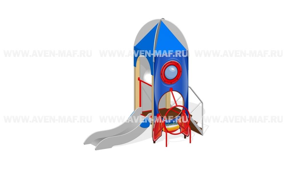 """Детская горка МГМ-2/2 """"Ракета"""""""