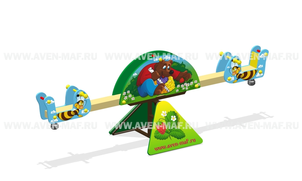"Качели-балансир МК-8 (047) ""Медведь"""