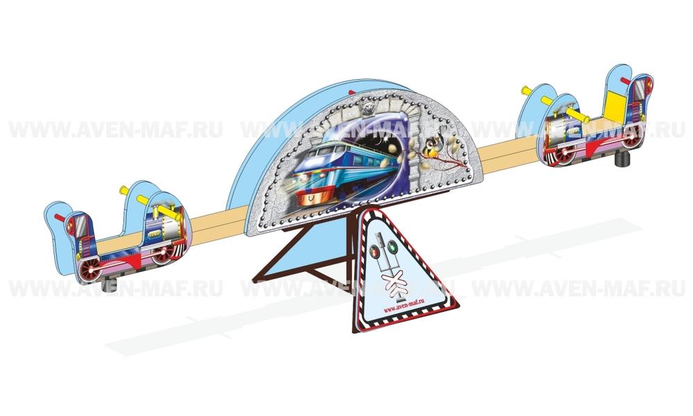"""Качели-балансир МК-8 (088) """"ЖД"""""""