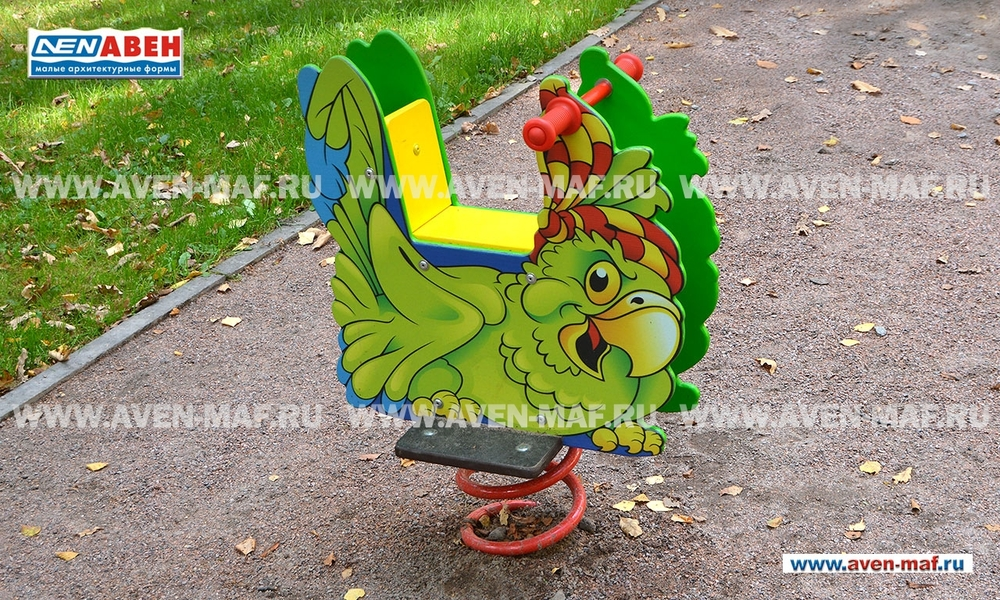 "Качалка на пружине МК-21 (152) ""Попугай"""