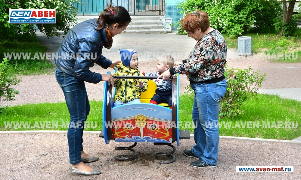 "Качалка на пружинах МК-21/2 ""Корабль"""