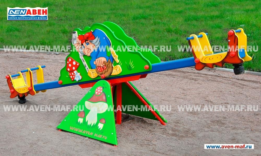 "Качели-балансир МК-8 (001) ""Баба-Яга"""