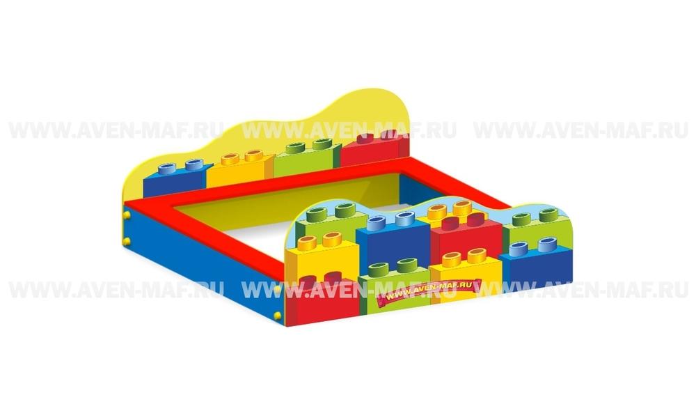 """Песочница П-9 """"Лего"""""""