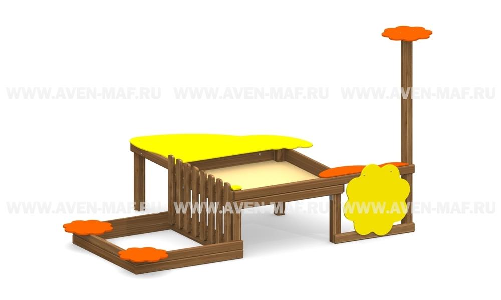 Песочница для детей с ограниченными возможностями ПО-2