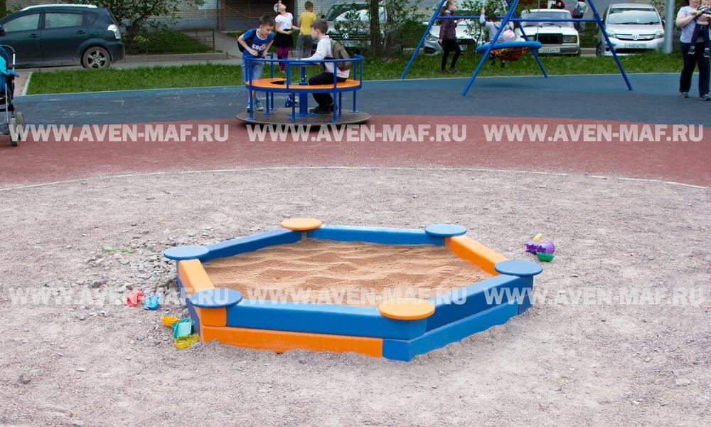 Песочница деревянная ПУ-6 д