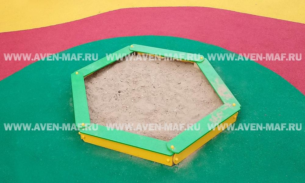 Детская песочница ПУ-6