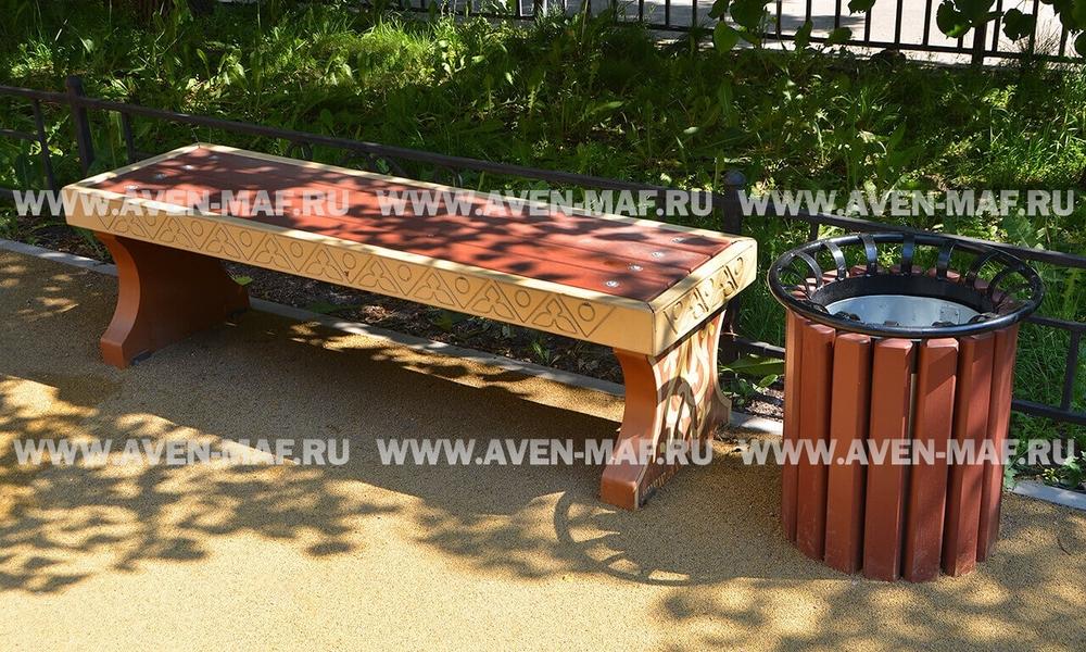 Скамейка деревянная РСС-19
