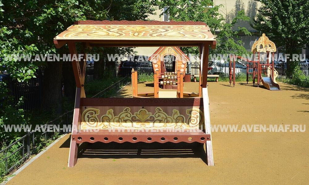Скамейка деревянная РСС-29