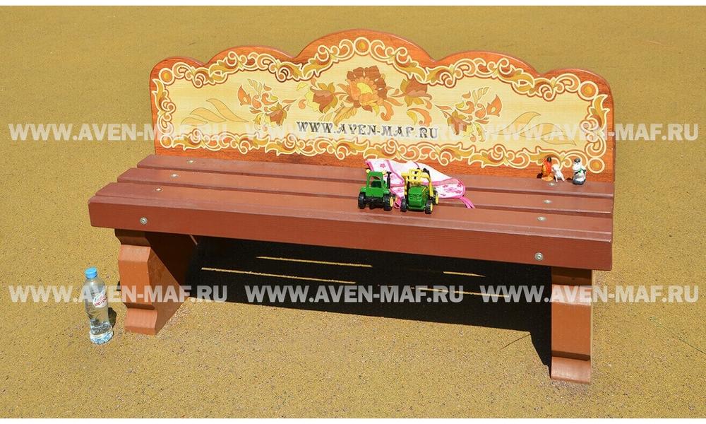 Скамейка деревянная РСС-6