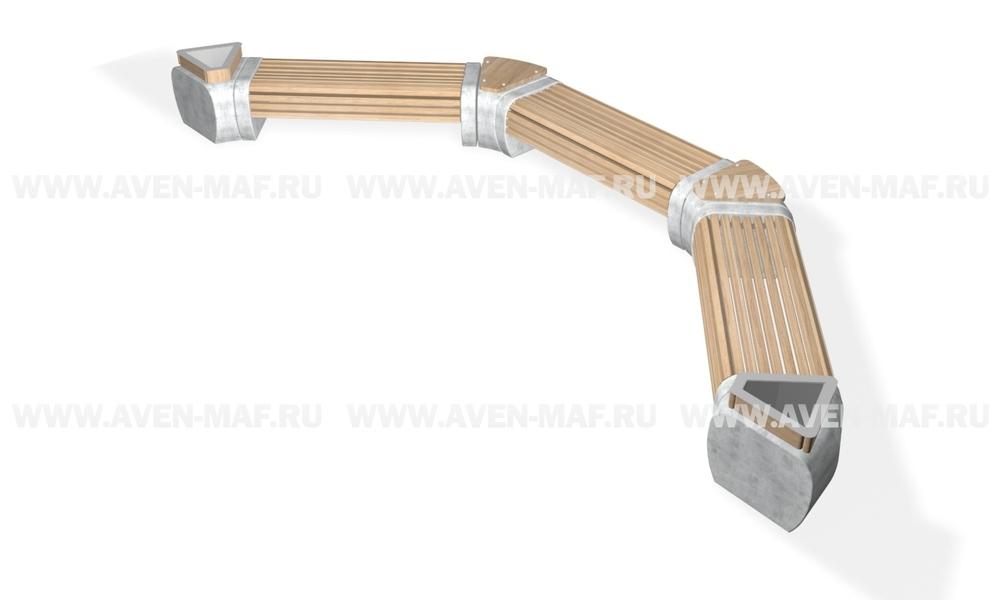 Модуль скамейки С-188 Урна