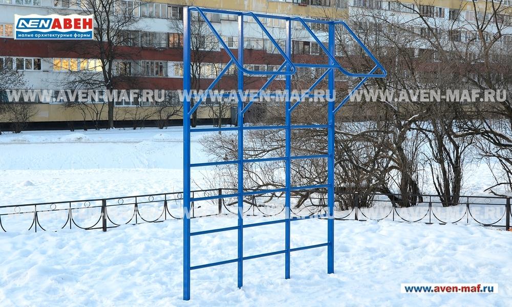 Шведская стенка с турниками Т-14м