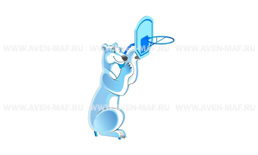 """Баскетбольная стойка ТМ-2 """"Медведь"""""""