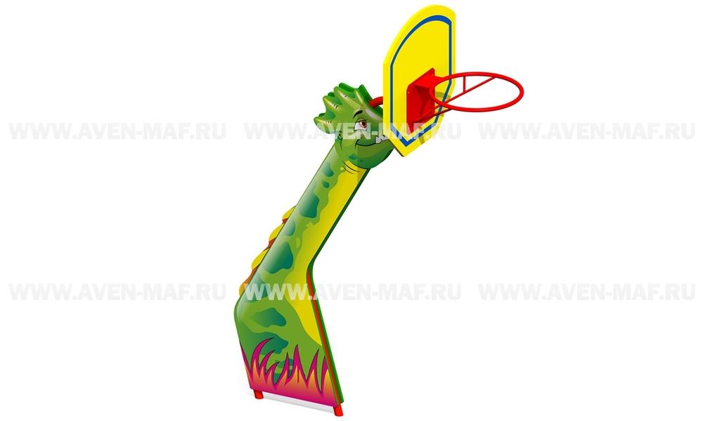 """Баскетбольная стойка ТМ-2 """"Динозавр"""""""