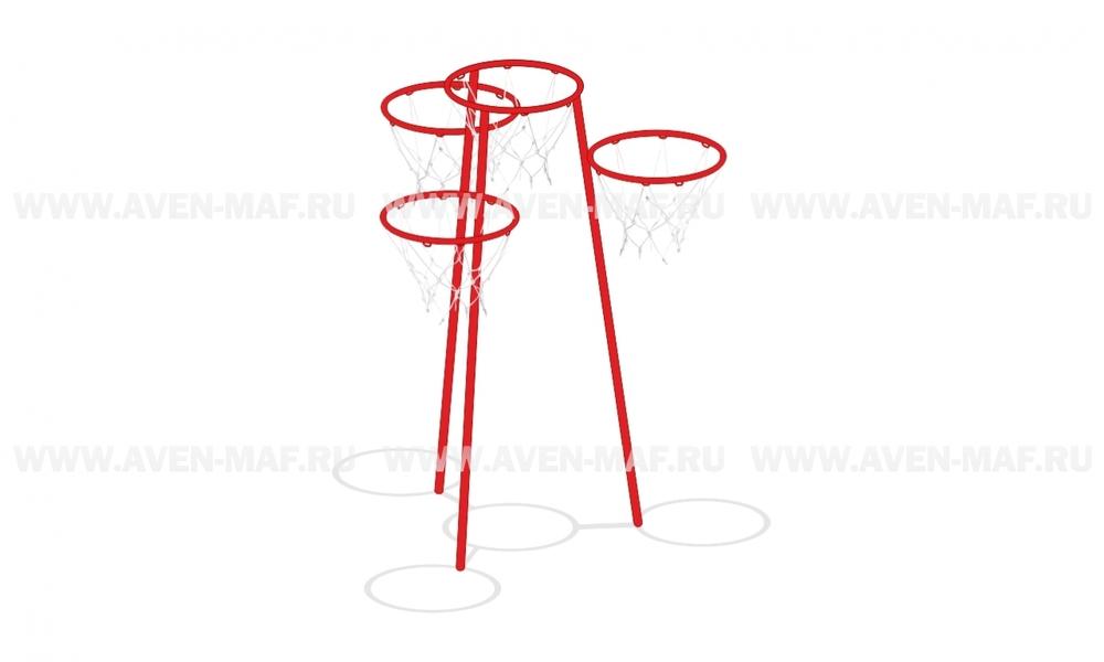 Баскетбольная стойка ТМ-3