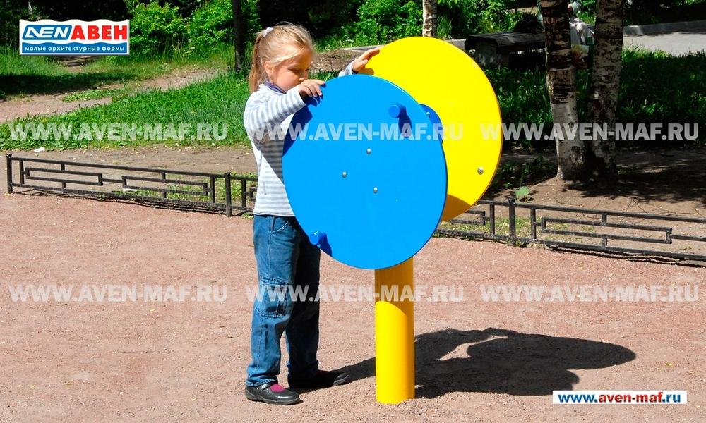 Уличный тренажер для детей с ограниченными возможностями ТО-122/1