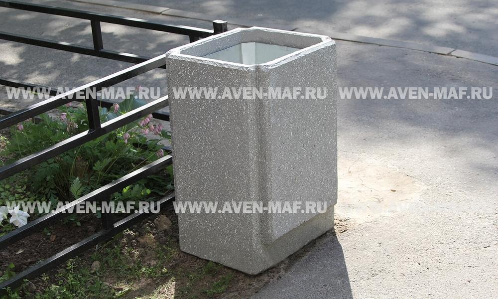 Бетонная урна для мусора У-186/2