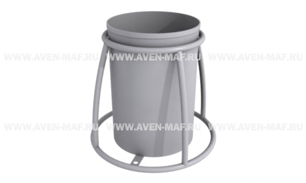 Металлическая урна для мусора У-201
