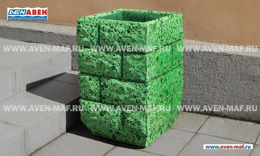 Бетонная урна для мусора У-110