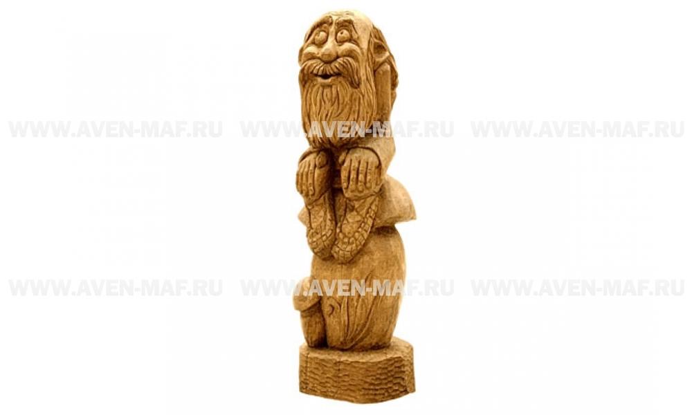 Деревянная фигура Лесовичок