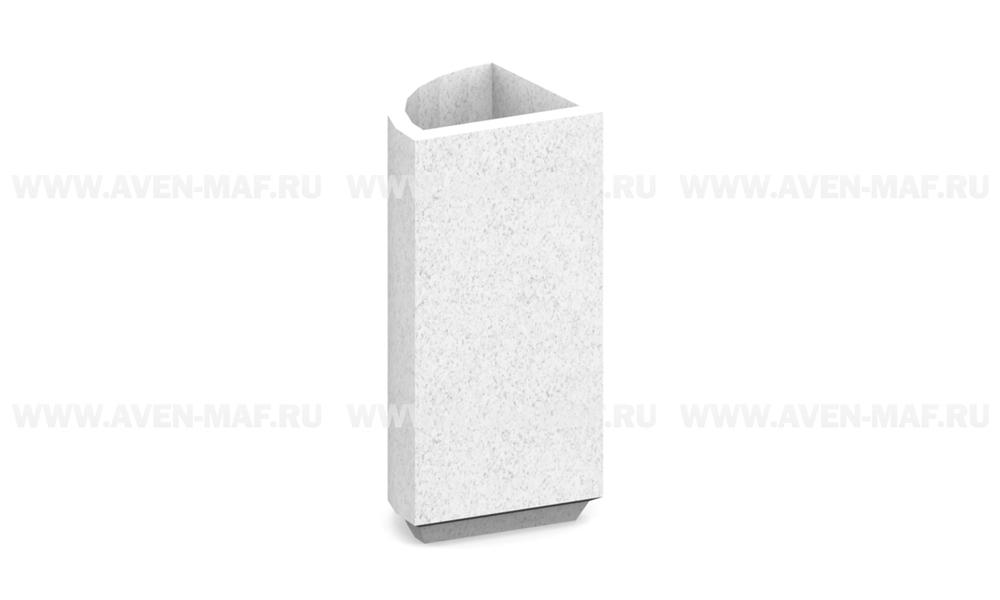 Вазон для цветов бетонный В-60/8