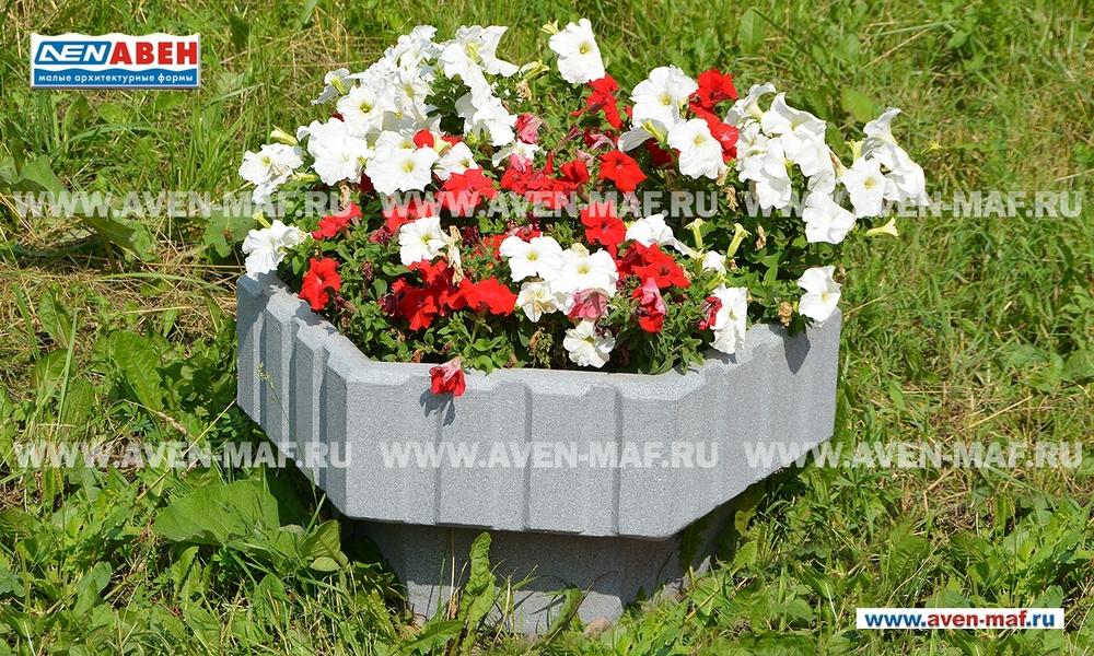 Вазон для цветов бетонный В-9/2