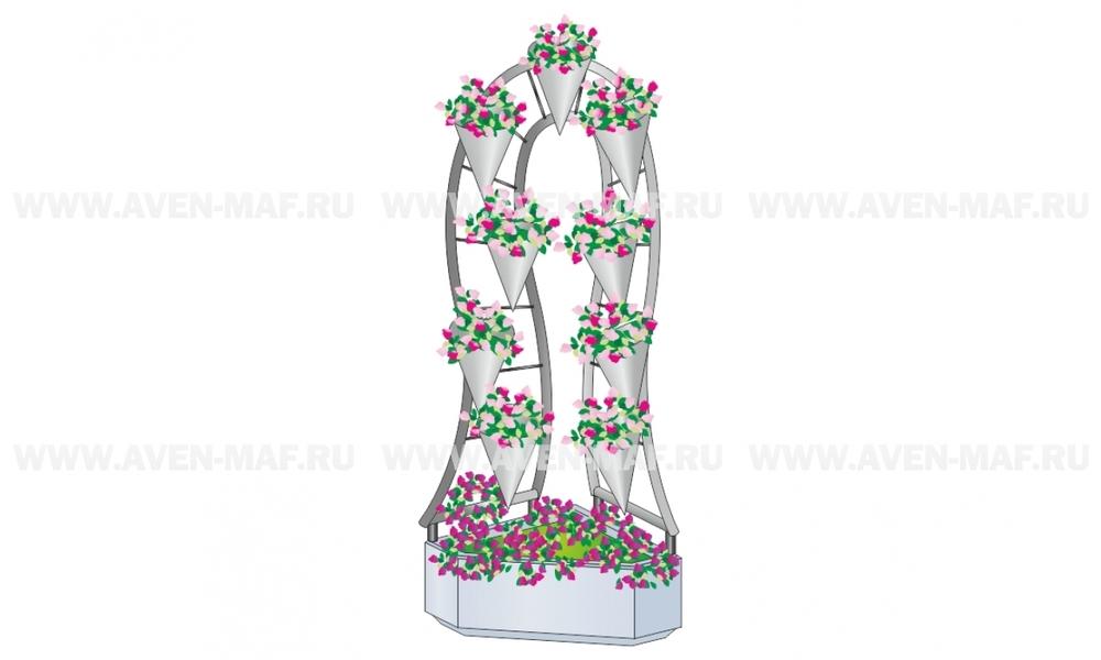 Вазон - комплекс для цветов ВК-100