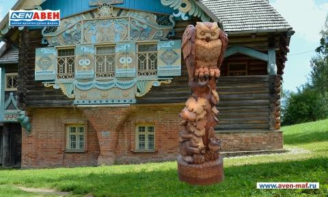 """Деревянная фигура """"Сова 2"""""""