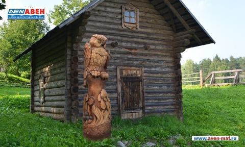 """Деревянная фигура """"Сова 3"""""""