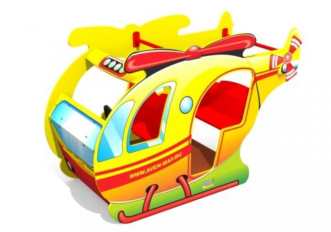 """Игровой элемент для детской площадки Д-18 """"Вертолет"""""""