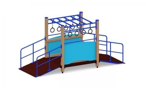 Игровой комплекс для детей с ограниченными возможностями Г-406