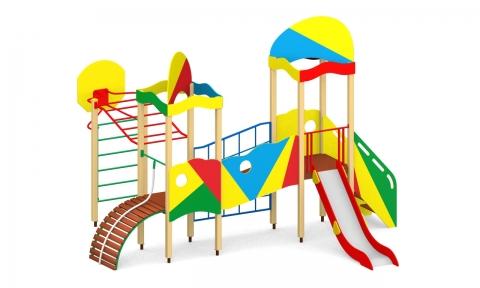 """Детский городок Г-5 """"Сити А"""" для детской площадки"""