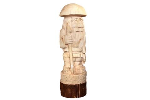 """Деревянная фигура """"Гриб лесовик"""""""
