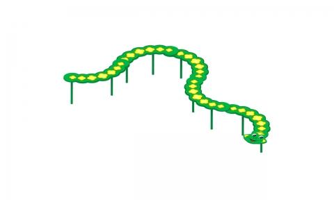 """Игровой элемент И-9/5 """"Змейка"""""""
