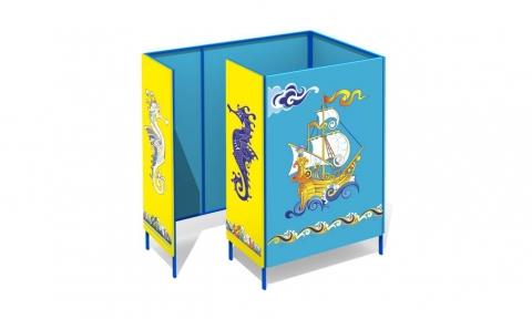 Пляжная кабинка Л-1