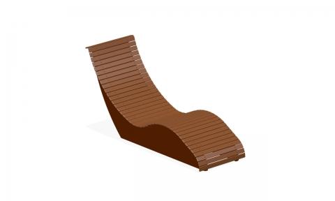 Лежак-скамейка Л-9