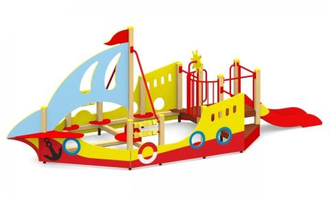 """Игровой комплекс для детской площадки МГМ-77 """"Кораблик"""""""