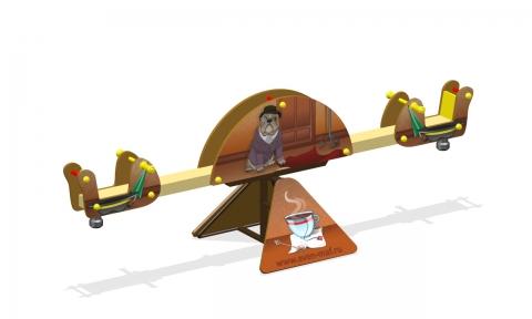"""Качели-балансир МК-8 (069) """"Лондон"""" Бульдог"""