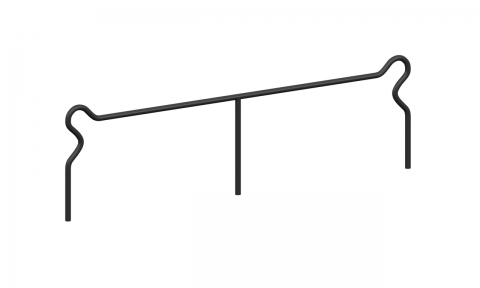 Ограждение металлическое О-307