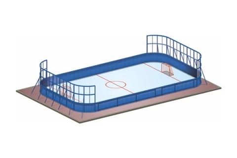 Спортивная площадка для игры в хоккей СП-01