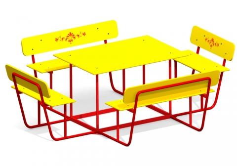 Детский столик СТ-4