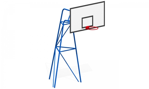 Баскетбольная стойка Т-25/1 м
