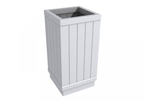 Металлическая урна для мусора У-15
