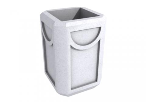 Бетонная урна для мусора У-53