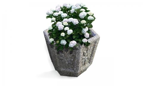 "Вазон для цветов В-6/1 ""Галька"""