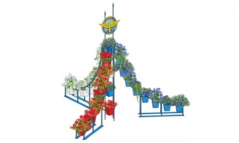 Вертикальное озеленение ВО-7